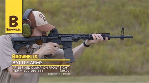 New Products Week In Review Battle Arms Development Inc AR-15 Fixed Clamp-On Front Sight