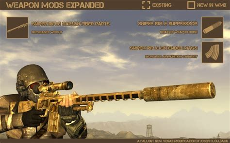 New Vegas Hunting Rifle Texture Broken When Equipping Scope