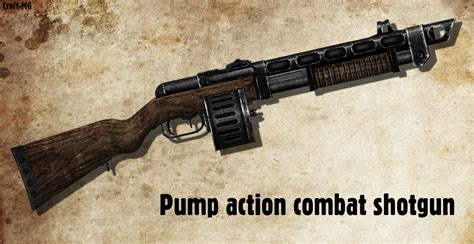 New Vegas Pump Action Shotgun Mod