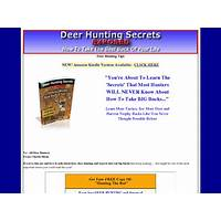 New: deer hunting secrets exposed expert deer hunting for big bucks coupons