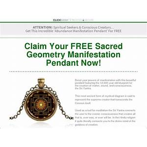 New free shipping funnel manifest abundance pendant immediately