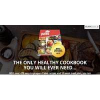 What is the best new paleo snacks book! high converting with upsells?