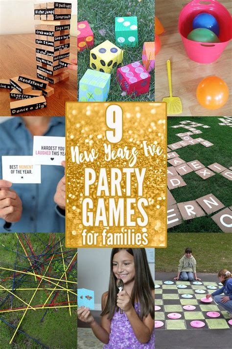 New year's party games for families Image