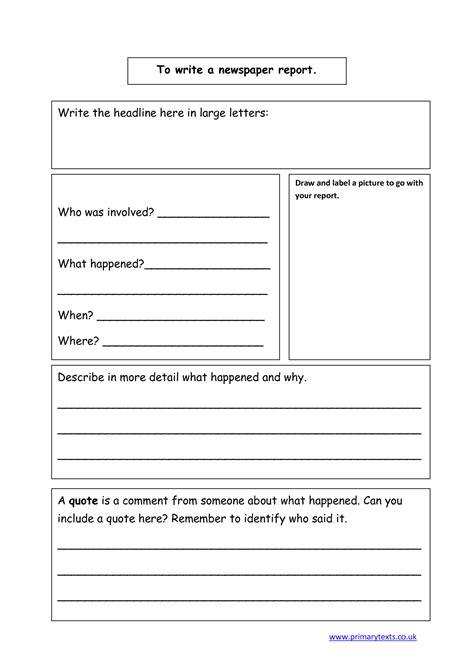 Newspaper Book Report Template CV Templates Download Free CV Templates [optimizareseo.online]