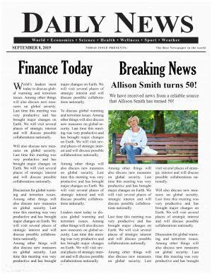 Newspaper Template Generator CV Templates Download Free CV Templates [optimizareseo.online]