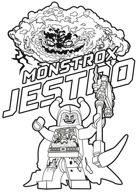 Nexo Knights Ausmalbilder Jestro