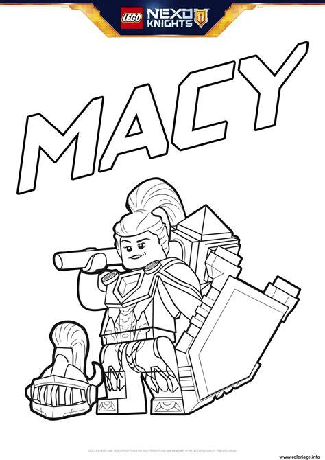 Nexo Knights Ausmalbilder Macy