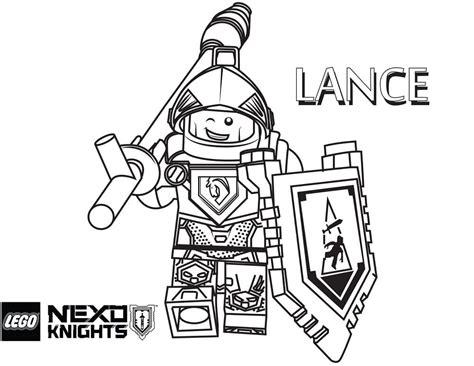 Nexo Knights Lance Ausmalbilder