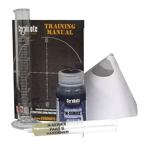 Nic Industries Cerakote Ovencure Ceramic Coatings Cerakote Oven Cure Kit Graphite Black