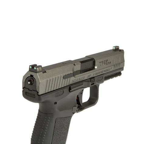 Night Fision Perfect Dot Tritium Night Sights For Canik Canik Tp9sfxtp9sfl Orange Front Clear Square Notch Rear