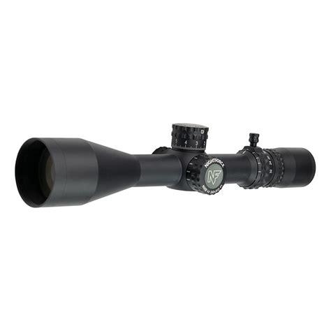 Nightforce Nx8 2520x50mm F1 Rifle Scopes 2520x50mm Illuminated Ffp Milc Black
