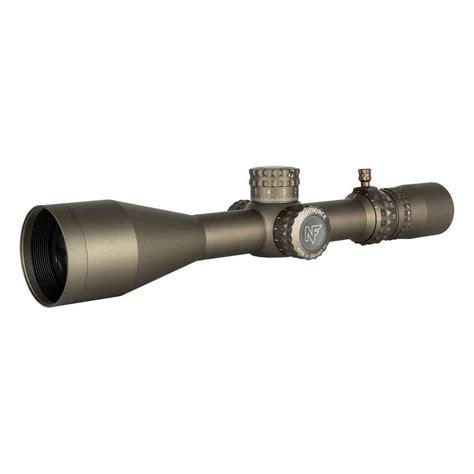Nightforce Nx8 2520x50mm F1 Rifle Scopes 2520x50mm Illuminated Ffp Moar Black