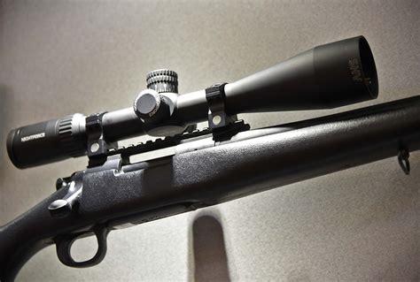 Nightforce SHV F1 4-14x50mm - MOAR Front Focal