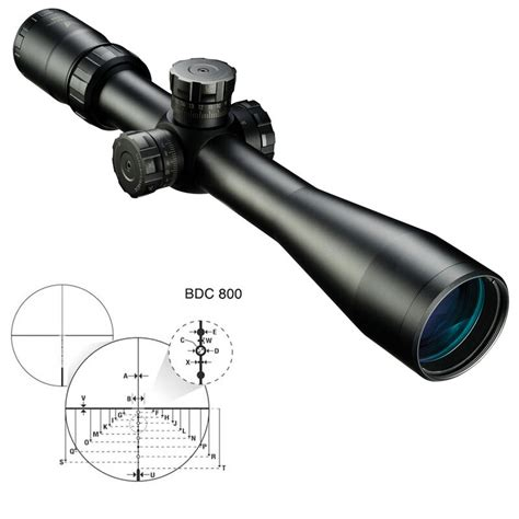 Nikon M308 Tactical Rifle Scope BDC Reticle- The Non-Operator Review