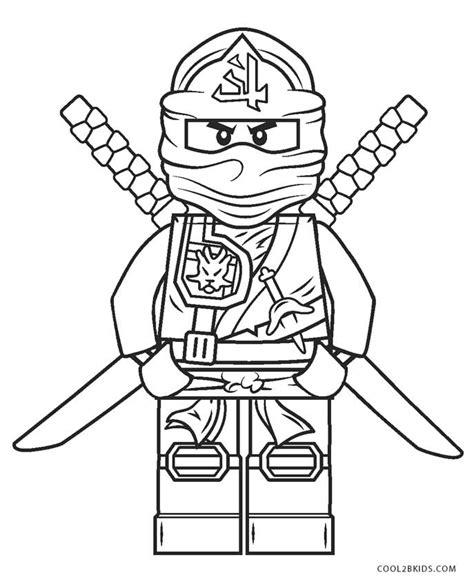 Ninjago Grüner Ninja Malvorlage