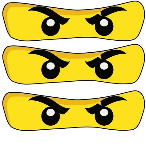 Ninjago Malvorlagen Augen