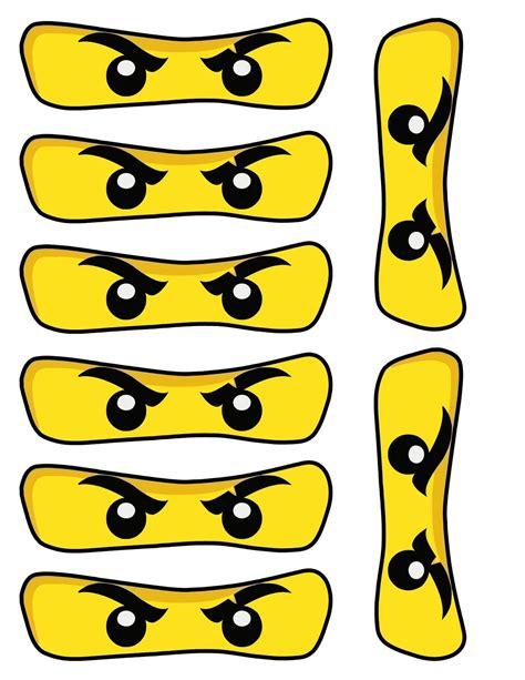 Ninjago Malvorlagen Augen Jungen