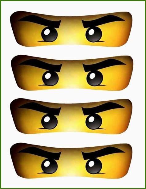 Ninjago Malvorlagen Augen Tier