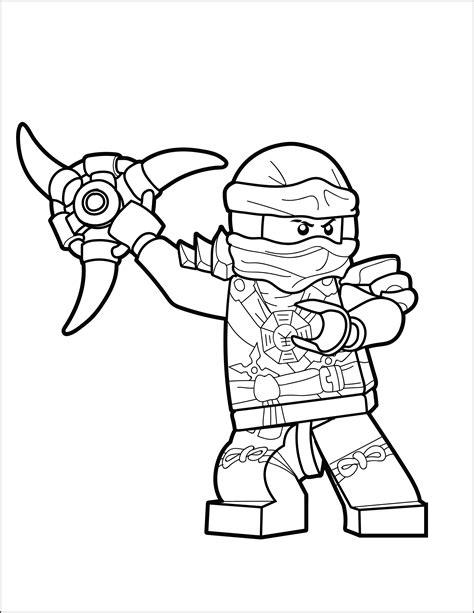 Ninjago Malvorlagen Jay