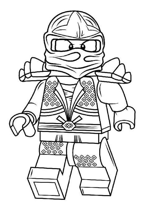 Ninjago Malvorlagen Zum Ausdrucken Für Kinder