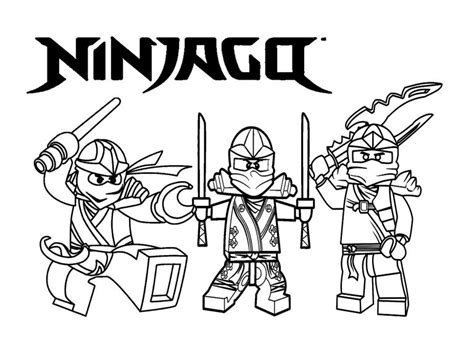 Ninjago Malvorlagen Zum Ausdrucken Pdf