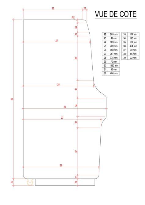 Nintendo arcade cabinet plans Image