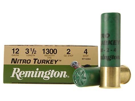 NITRO TURKEY AMMO 12 GAUGE 3 1-7 8 OZ 6 SHOT REMINGTON