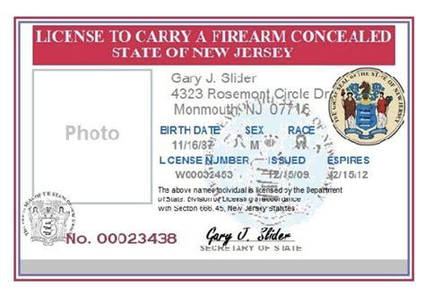 Nj Handgun Carry Statute