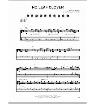 No Leaf Clover Tab