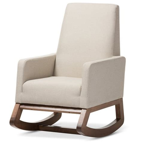 Nola Rocking Chair & Ottoman