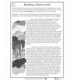 Nonfiction Reading Passages For 4th Grade