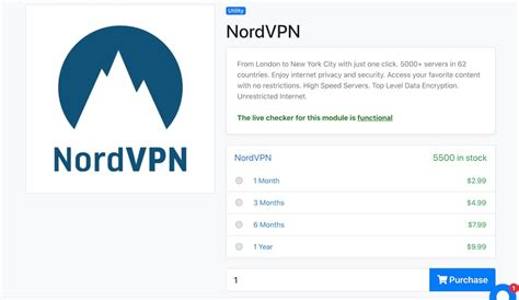 nord vpn sign in my account page Germany