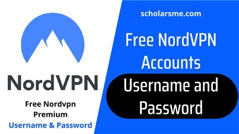 7) Nordvpn Username And Password Thailand VPN Information