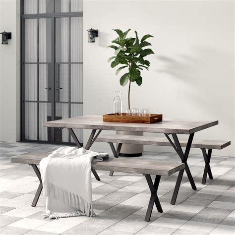 Noreen 3 Piece Outdoor Dining Set