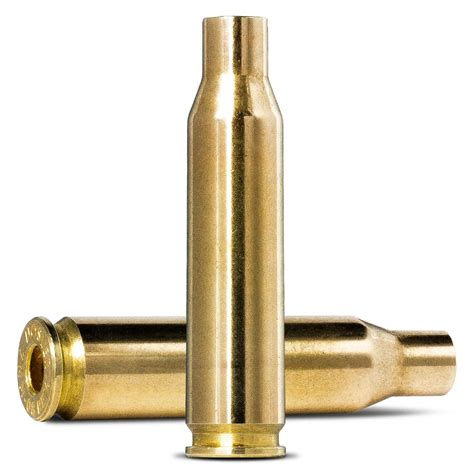 Norma 7mm08 Remington Brass Case 7mm08 Remington Brass 100bag