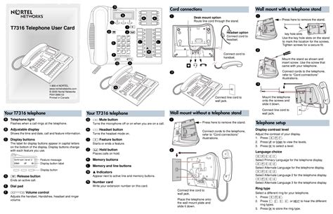 nortel networks phone t7316e features manual pdf manual