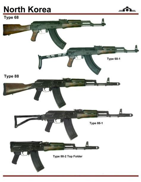 North Korean Ak 74 Assault Rifle