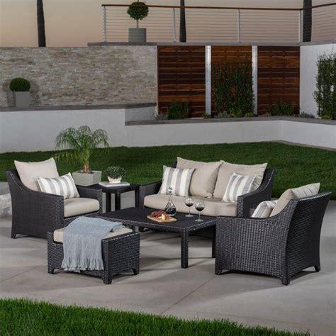 Northridge 6 Piece Sofa Set with Sunbrella Cushions