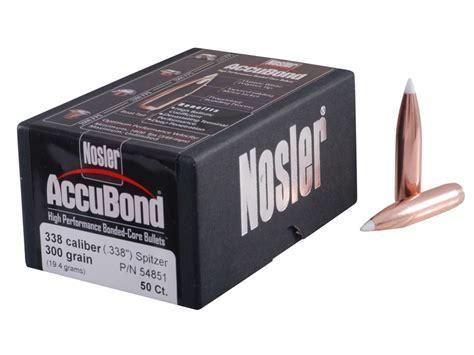 Nosler Accubond 338 Caliber (0