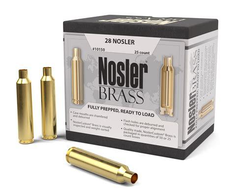 Nosler Brass Clearance Brass