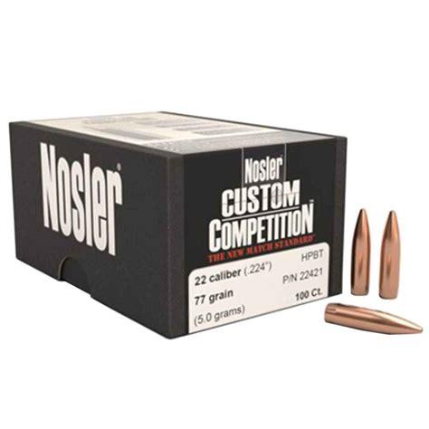 Nosler Custom Competition 22 Caliber (0 224
