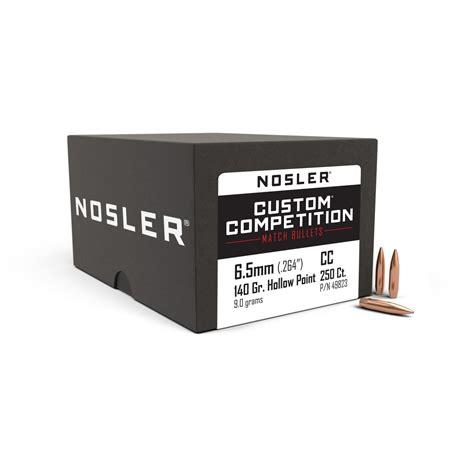 Nosler Custom Competition 6 5mm (0