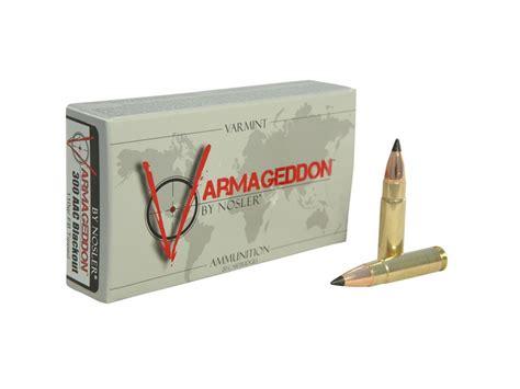 Nosler Varmageddon Ammunition