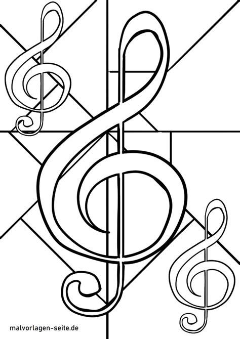Notenschlüssel Bilder Malvorlagen Hochzeit