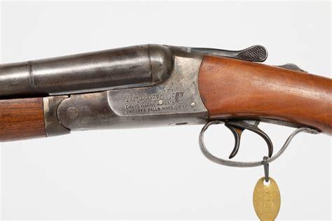 Nr Davis And Sons Double Barrel 12 Gauge Shotgun
