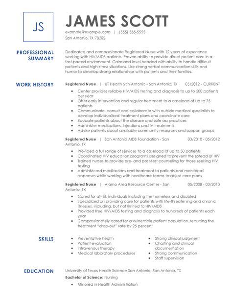 Nursing Resume Power Words Resume Builder Service