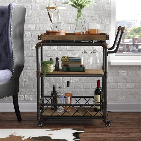 Oakfield Bar Cart