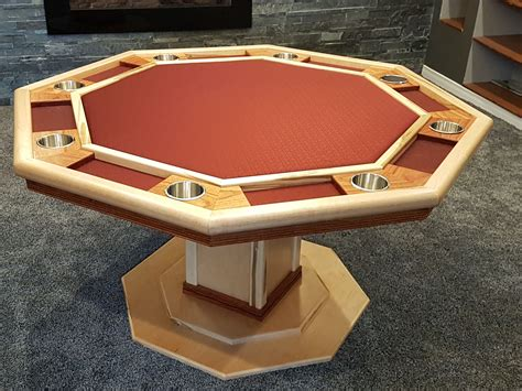 Octagon poker table woodworking plans Image