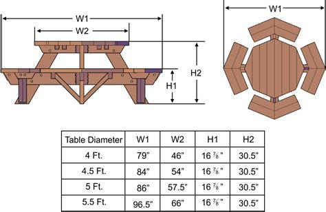 Octagonal bench plans Image