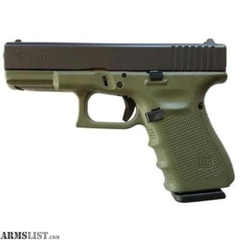 Od Green Gen 4 Glock 19 Frame